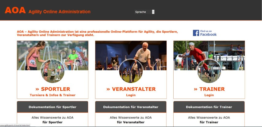 AOA Agility Online Administration